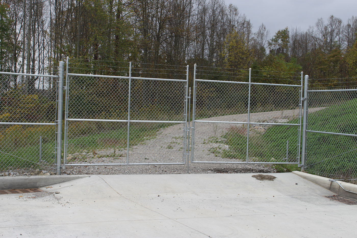 Chain Link Swing Gates Steel America S Gate Company