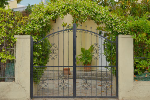 gate to the yard