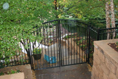 Double Drive Overscallop Walk Gate