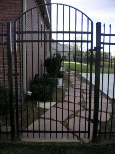 Estate pedestrian swing gate