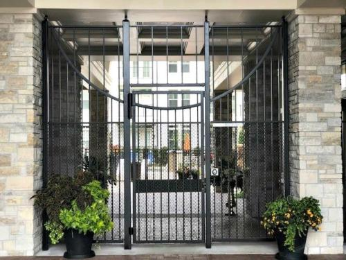Custom Ornamental Entry Gate in Shawnee, Kansas